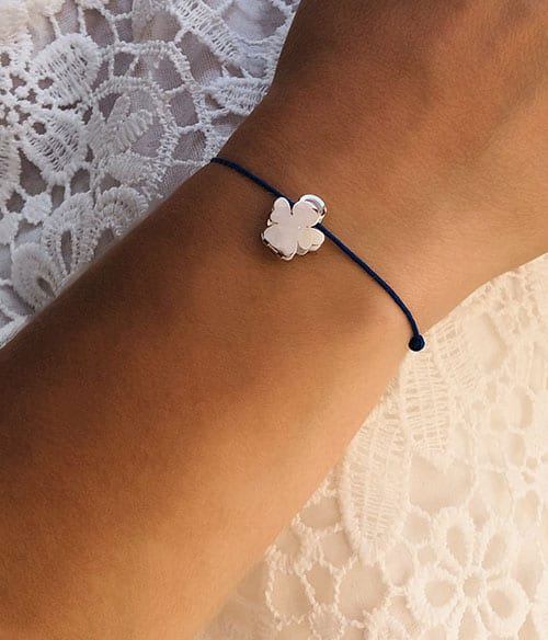 Bracelet cordon Ange 925grammes.com