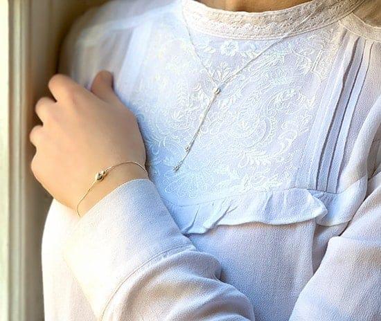 Bracelet Eliya et Collier Louise 925 grammes